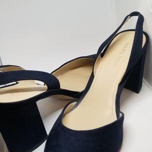 Navy Blue  Sling back shoe